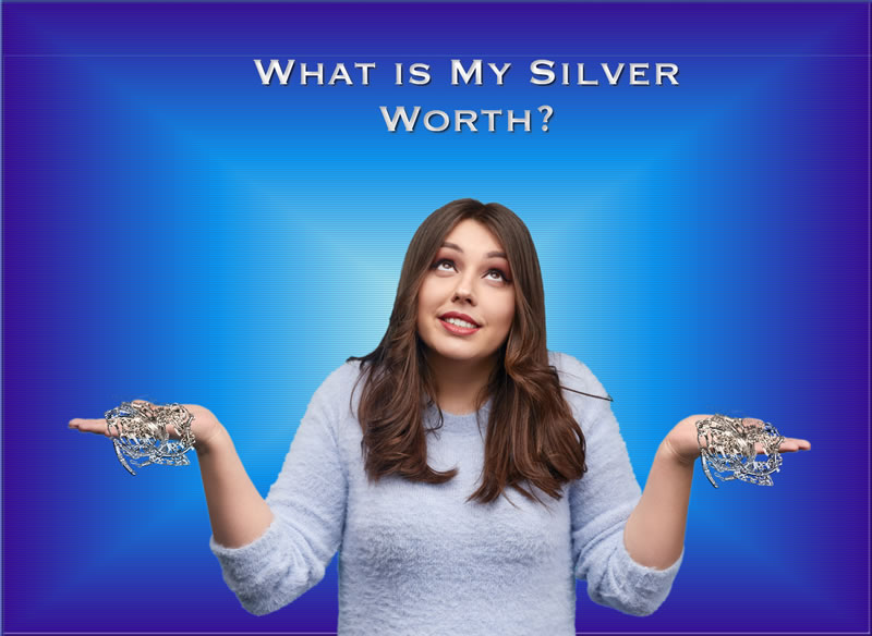 What is silver worth today?